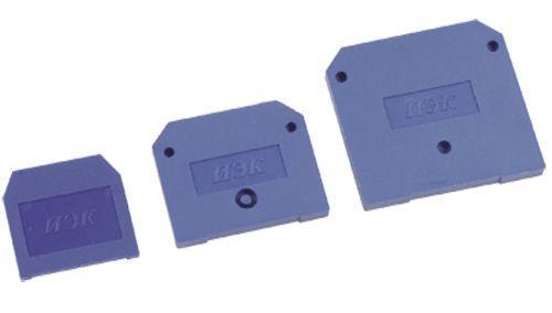 Заглушка для ЗНИ-4-6кв.мм (JXB35-50А) син. IEK YZN10D-ZGL-006-K07