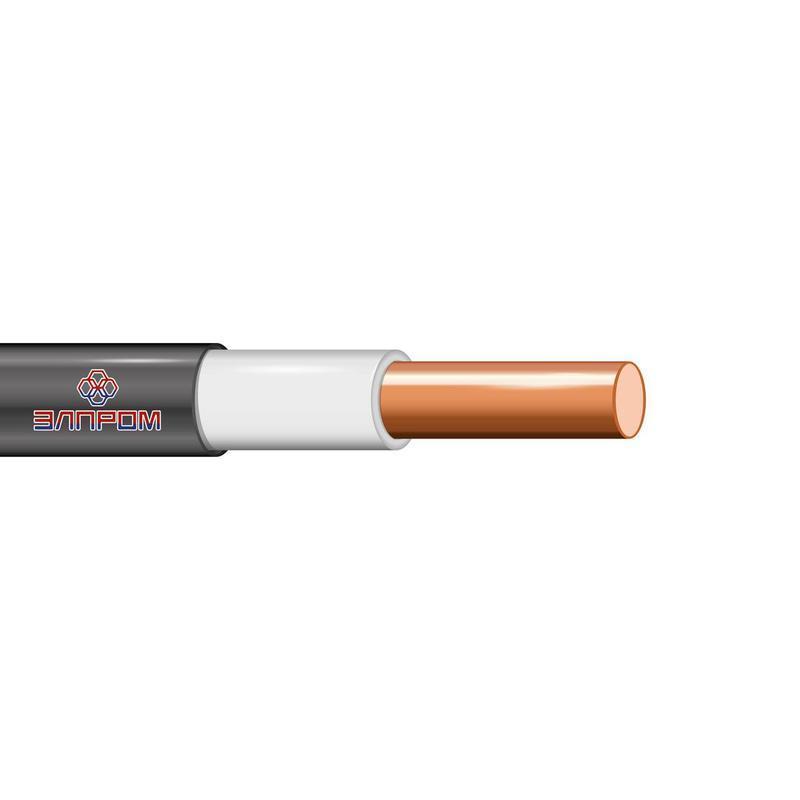 Кабель ВВГнг(А)-LS 1х4 Б ОК 0.66кВ (бухта) (м) ЭлПром НТ000002864