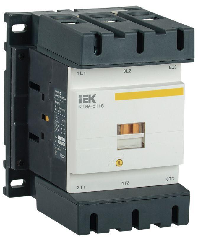 Контактор КТИе-5115 115А 400В/АС3 IEK KKTE50-115-400-10