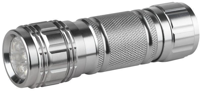 Фонарь SD9 металл (3хR03.9 LED) ЭРА C0027216