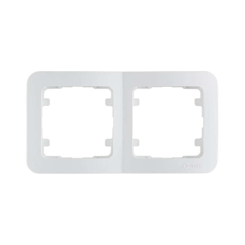 Рамка 2-м Lillium горизонт. бел. Makel 71012
