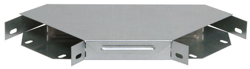 Угол для лотка горизонтальный 90град. 400х50 с кр. IEK CLP2P-050-400