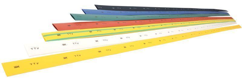 Трубка термоусадочная ТТУ 50/25 желт./зел. 1м IEK UDRS-D50-1-K52