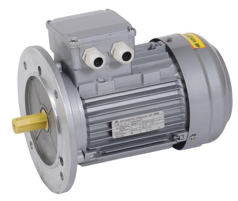 Электродвигатель АИР DRIVE 3ф 71B2 380В 1.1кВт 3000об/мин 3081 IEK DRV071-B2-001-1-3030