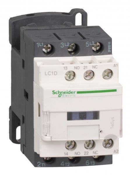Контактор 3п 12А D 1НО+1Н3 220В AC SchE LC1D12M7