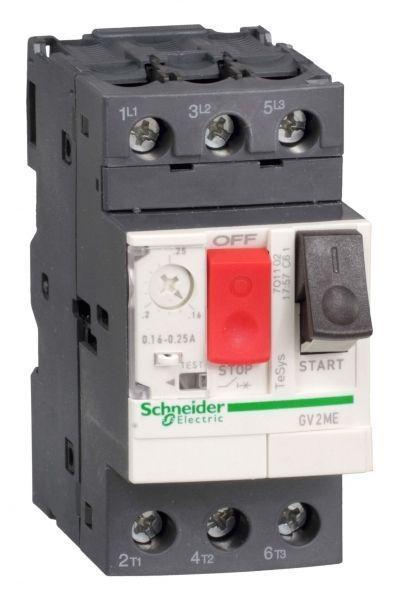 Выключатель авт. защиты двиг. ME22 (20-25А) SchE GV2ME22