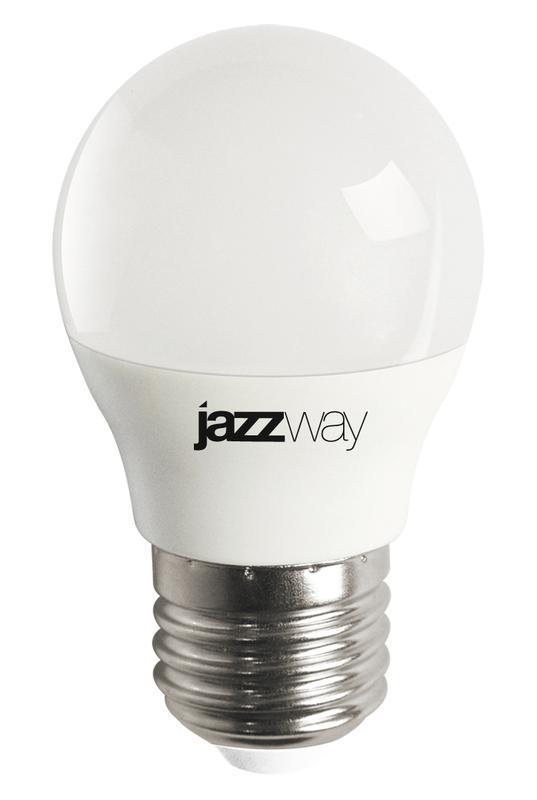 Лампа светодиодная PLED-LX G45 8Вт 5000К E27 JazzWay 5028685