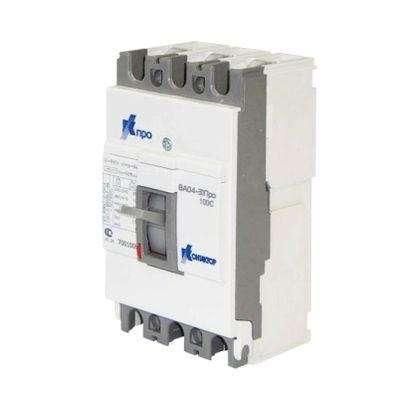 Выключатель автоматический 3п 100А 10кА ВА04-31 Про 125C Контактор 7001009