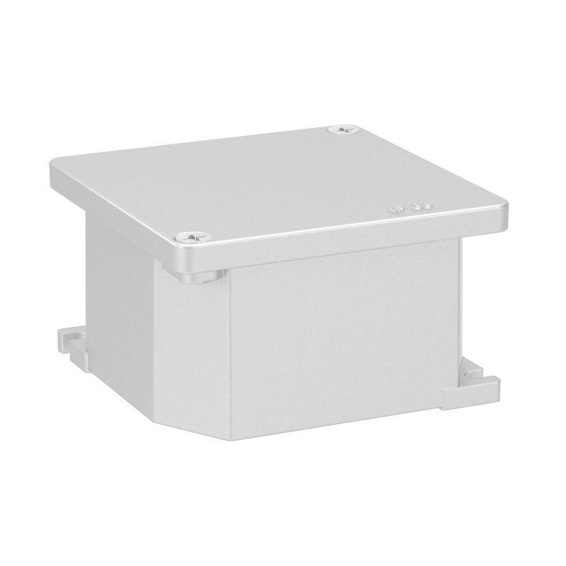 Коробка ответвительная 90х90х53мм IP66 RAL9006 окрашенная алюм. DKC 65300