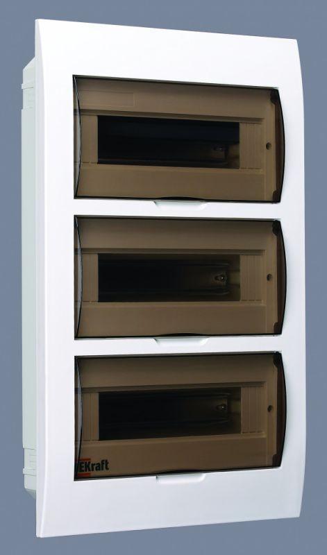Корпус пластиковый встраиваемый 36мод. ЩРВ-П-36 50х36х10 IP41 SchE 31007DEK