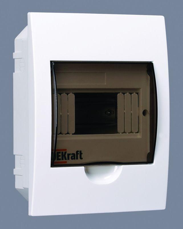 Корпус пластиковый встраиваемый 6мод. ЩРВ-П-6 22х17х9 IP41 SchE 31002DEK
