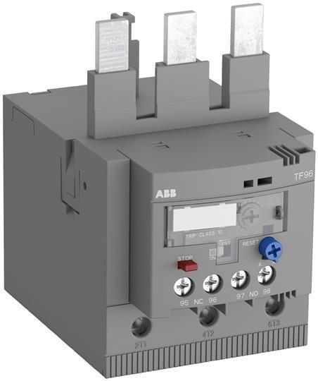 Реле перегрузки тепл. TF65-60 диапазон уставки 50.0-60.0А для контакторов AF40 AF52 AF65 класс перегрузки 10 ABB 1SAZ811201R1006