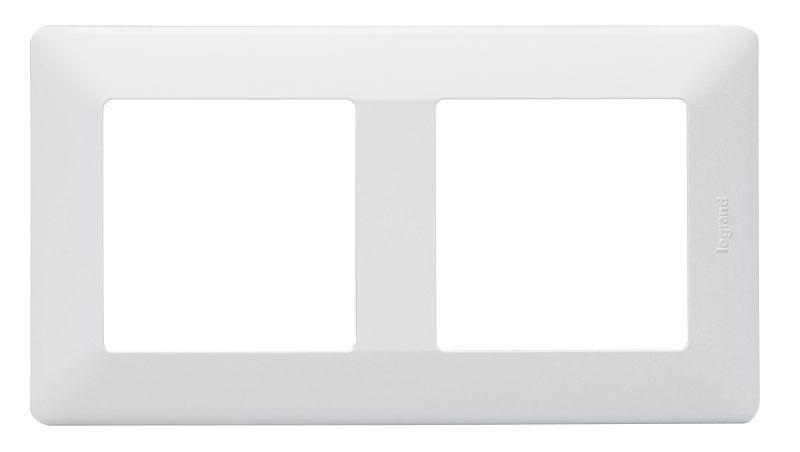 Рамка 2-м Valena Life универсальная бел. Leg 754002