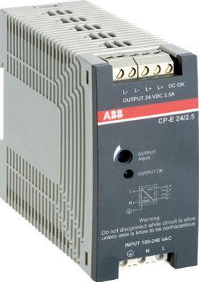 Блок питания CP-E 24/2.5 вх. 90-265В AC/120-370В DC вых. 24В DC/2.5А ABB 1SVR427032R0000