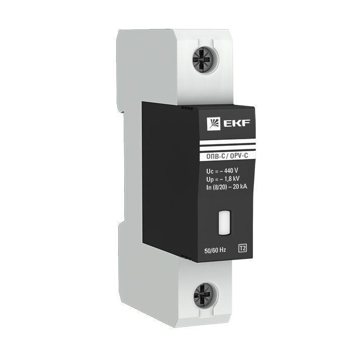 Ограничитель перенапряжения имп. ОПВ-C1 EKF opv-c1