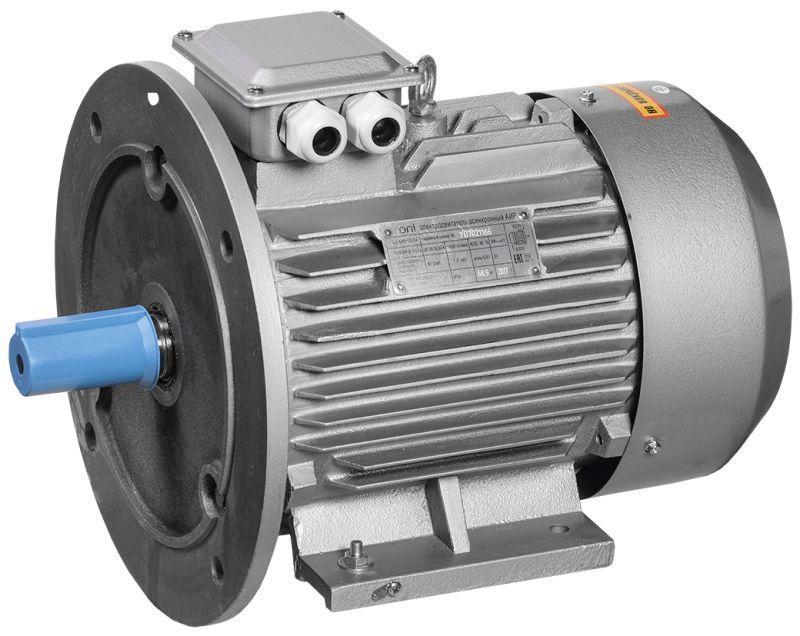 Электродвигатель АИР2Е 1ф 80C4 220В 1.5кВт 1500об/мин 2081 ONI ONP080-C4-001-5-1520