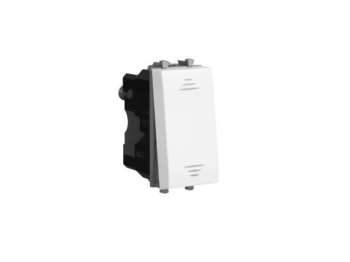 Выключатель модульный 1-кл. 1мод. Avanti Белое облако; 16А IP20 бел. DKC 4400101