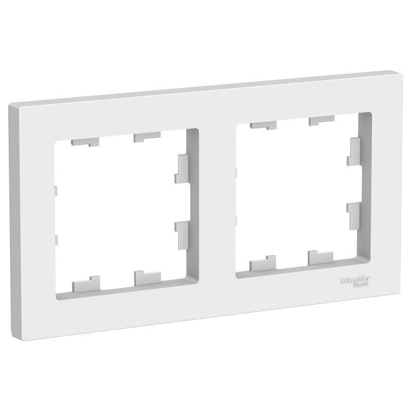 Рамка 2-м AtlasDesign универс. бел. SchE ATN000102