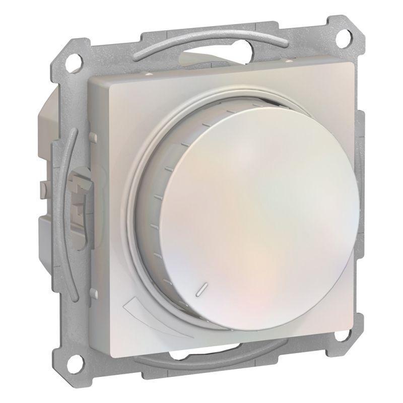 Механизм светорегулятора поворотно-нажимного AtlasDesign 315Вт жемчуж. SchE ATN000434
