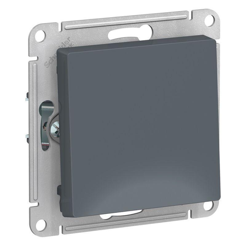 Механизм выключателя 1-кл. СП AtlasDesign 10А IP20 (сх. 1) 10AX грифель SchE ATN000711