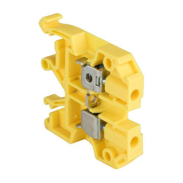 Колодка клеммная JXB-4/35 (35а) желт. EKF plc-jxb-4/35y