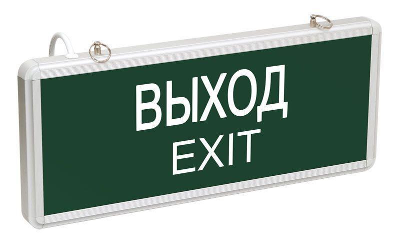 Светильник светодиодный ССА 1001 ВЫХОД-EXIT; одностор. 3Вт IEK LSSA0-1001-003-K03