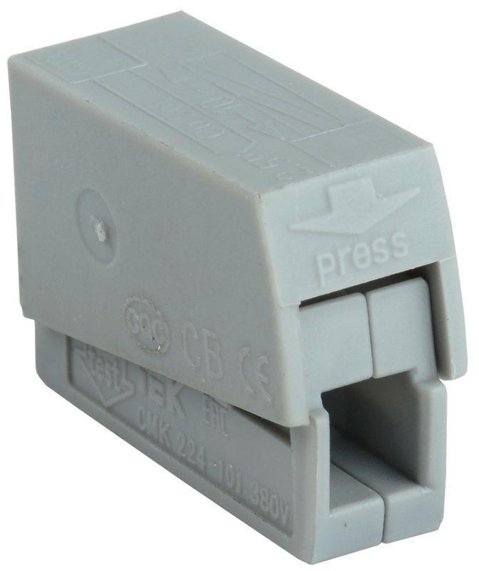 Клемма строительно-монтажная СМК 224-101 IEK UKZ50-101-001