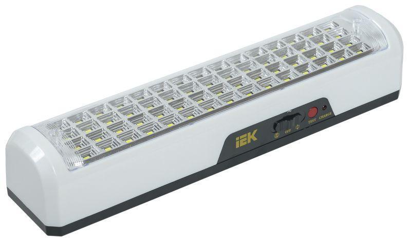 Светильник ДБА 3928 аккумулятор 15ч 12Вт IEK LDBA0-3928-60-K01