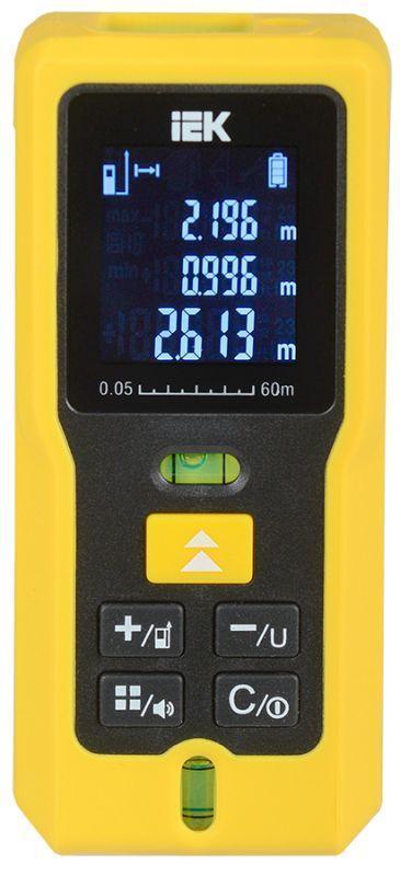 Дальномер лазерный DM60 Professional IEK TIR21-3-060