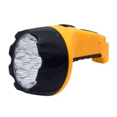 Фонарь аккумуляторный ручной MLA 04 15LED 200лм 6ч 2 реж. з/у 230В черн.-желт. IN HOME 4690612031781