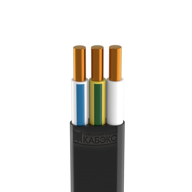 Кабель ВВГ-Пнг(А)-LSLTx 3х6 (N PE) 0.66кВ (м) Кабэкс ТХМ00385751