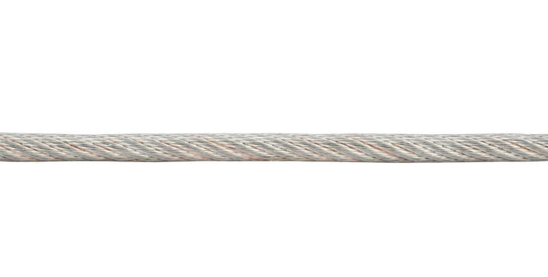 Трос стальной в ПВХ изоляции d3.0-4.0мм (уп.10м) Tech-Krep 127855