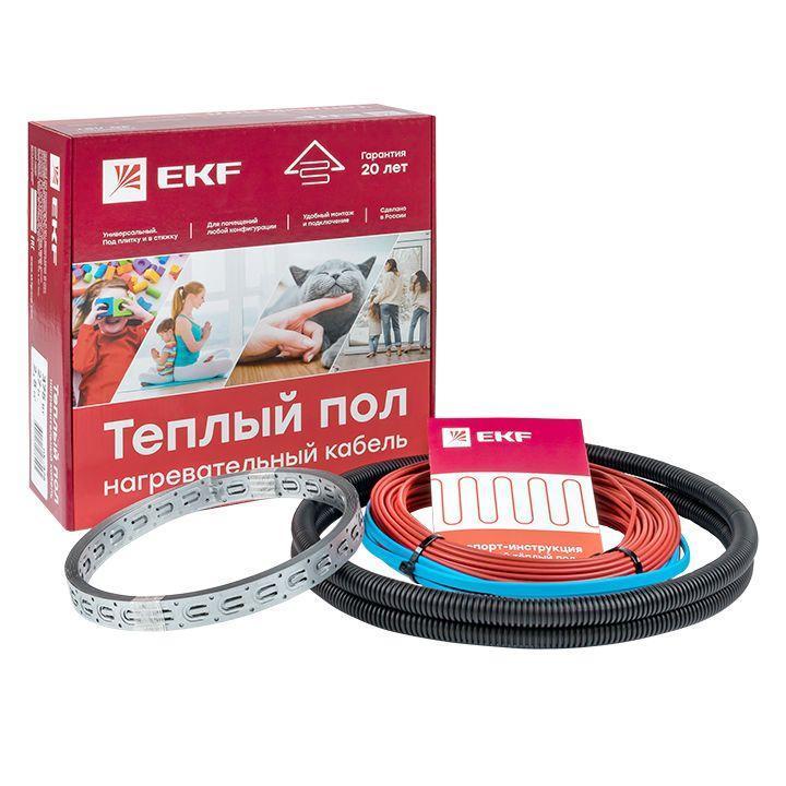 Комплект Теплый пол; (кабель) 150Вт 10м 1.0кв.м EKF nk-150