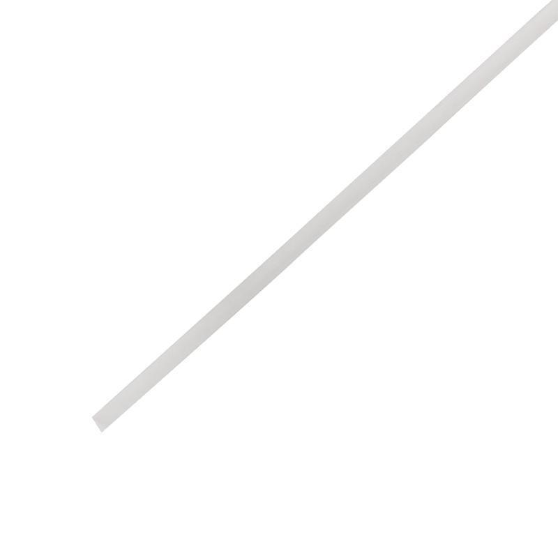 Трубка термоусаживаемая 8.0/4.0мм (уп.50шт) по 1м прозр. Rexant 20-8009