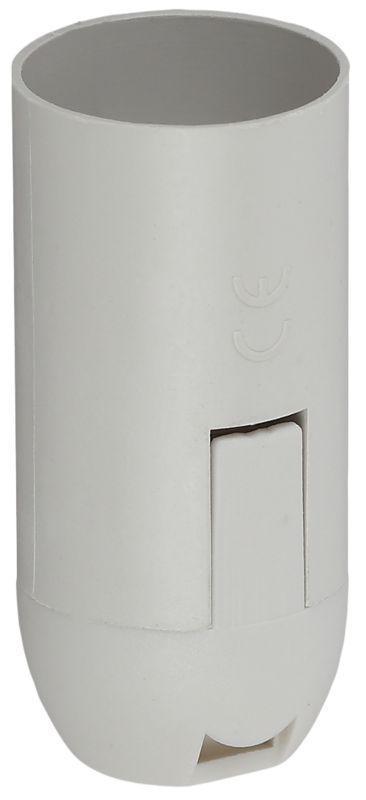 Патрон E14 подвесной пластик бел. (х50) (50/1000/24000) Эра Б0043747