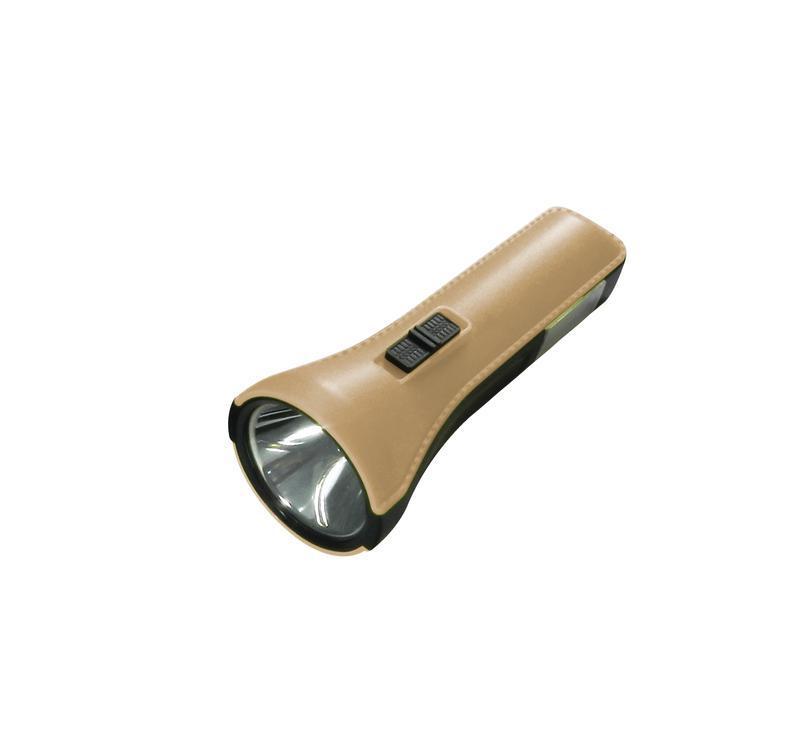 Фонарь 1Вт напр. свет 1Вт СОВ ассист. свет литий MICRO USB шнур в компл. КОСМОС KocAc1013Lith