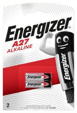Элемент питания алкалиновый ENR Alkaline A27 FSB2 (блист.2шт) Energizer E301536400