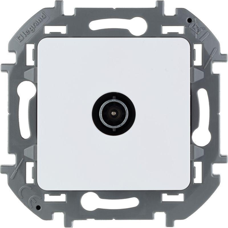 Механизм розетки оконечной TV Inspiria 10дБ 5-862мГц бел. Leg 673870