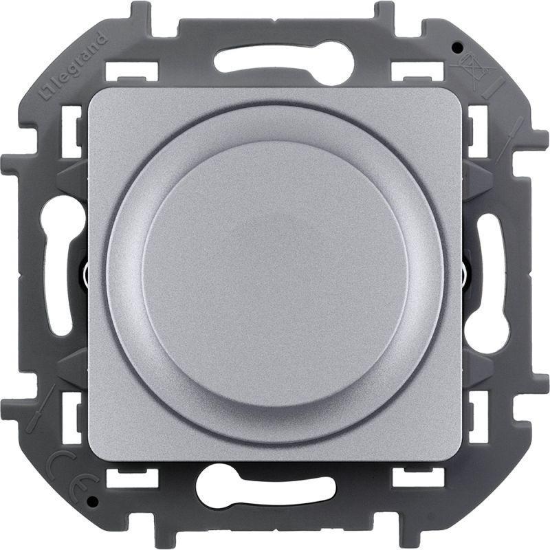 Механизм светорегулятора поворотного Inspiria 300Вт без нейтрали алюм. Leg 673792