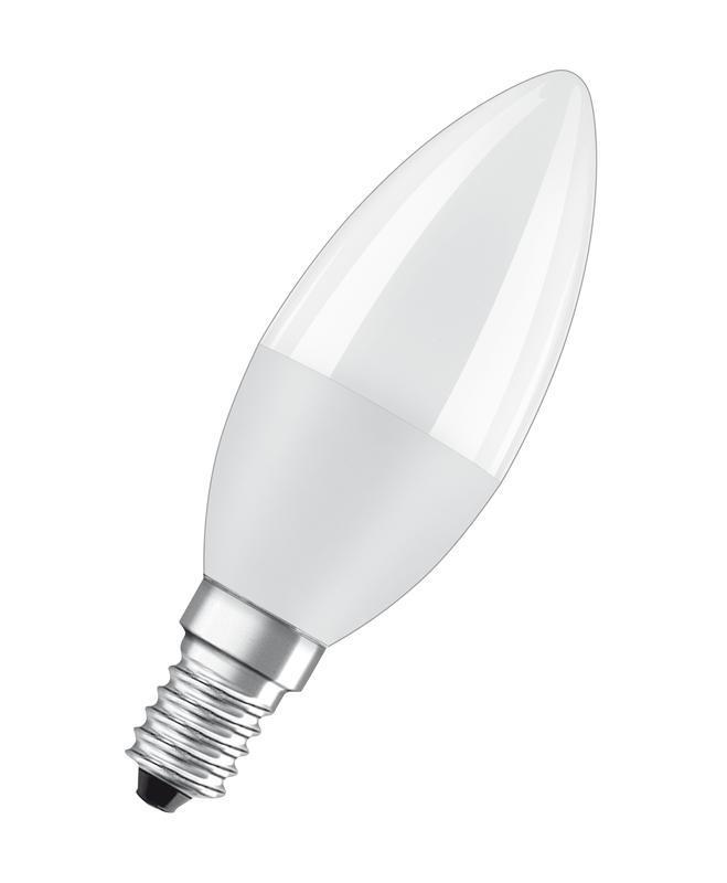 Лампа светодиодная LED Value LVCLB60 7SW/865 230В E14 10х1 RU OSRAM 4058075579033