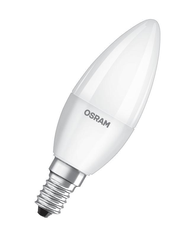 Лампа светодиодная LED Value LVCLB60 7SW/830 230В E27 10х1 RU OSRAM 4058075579446