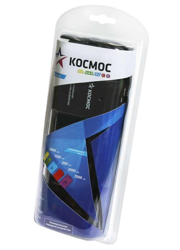 Устройство зарядное 509 (без аккум.) (1-4 АА/ААА C D 2х9V) Космос KOC509
