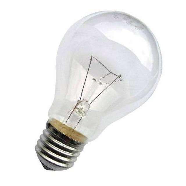 Лампа накаливания Б 95Вт E27 230В (верс.) Лисма 305000200\305003100