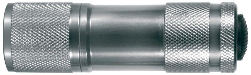 Фонарь UF9LED (3XR03 металлик 9 LED  алюм. короб) Ultraflash 7903