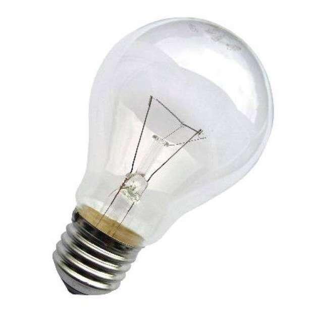 Лампа накаливания Б 75Вт E27 230-230В (верс.) Лисма 304169500\304306300